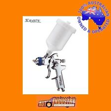 new STAR s106 GRAVITY FEED SPRAYGUN & POT CHOOSE FROM 1.4/1.7 or 2.0mm SPRAY GUN