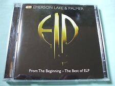 Emerson Lake & Palmer - From The Beginning - The Best Of ELP.Double CD.Discs VGC