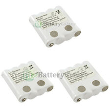 3 NEW OEM BG0057 BG057 Two-Way 2-Way Radio Rechargeable Replacement Battery Pack