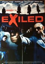 EXILED ORIGINAL POSTER JOHNNIE TO HONG KONG