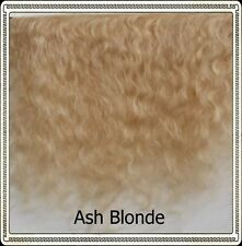 "Mohair Weft ASH BLONDE,  5"" - 6"" X 36""   Ideal for Reborn dolls"