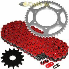 RED O-Ring Drive Chain & Sprocket Kit Fits SUZUKI GSX-R600 GSXR600 1998-2000