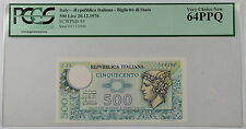 1976 Italy 500 Lire Note SCWPM# 95 PCGS 64 PPQ Very Choice New