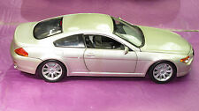 BMW 645 CI COUPE METLLIC SILVER  NO  BOX