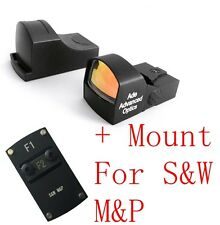Ade Optics MINI Red Dot Reflex Sight Pistol for SW MP Smith Wesson S&W M&P
