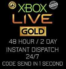Microsoft Xbox Live 48 Hour / 2 Day Trial Code AUTOMATIC INSTANT DELIVERY 24/7