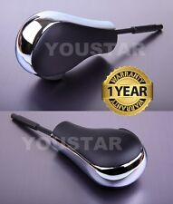CHROME & BLACK Auto Shift Knob BMW 1 3 Series E90 E92 E93 E81 E82 E87 Z4 X1 #32