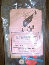 altes DDR Spielzeug Hubschrauber steckbar zum selber Bauen in OVP Joachim Warnke