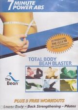 The Bean: Total Body Bean Blaster (Workout DVD) Lower Body, Pilates, & More! NEW