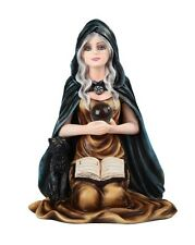 "5"" Fortune Telling Witch Halloween Figure Statue Figurine Fantasy Gothic Decor"