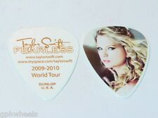 TAYLOR SWIFT ORIGINAL 2009 - 2010 FEARLESS TOUR GUITAR PICK -NICE!