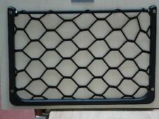CAR TIDY NET BL ACK ELASTICATED FRAMED NET VW CAMPER CARAVAN HORSEBOX BOAT