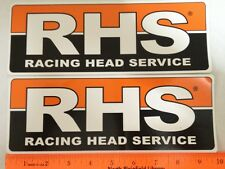 Official RHS Racing Head Service Decal Sticker Vinyl Large