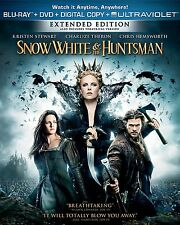 Snow White & the Huntsman - Extended Edition - Blu-ray + DVD Like New