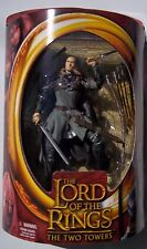 LOTR THE TWO TOWERS. LEGOLAS W/ ROHAN ARMOR ACTION FIGURE. UNOPENED. HALF-MOON