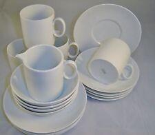 Thomas Germany Rosenthal Group White Porcelain Breakfast Set 17 Pcs Loft Shape