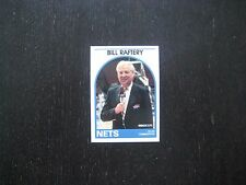 1989 1990 NBA Hoops Announcer Card Bill Raftery Nets Promo Basketball Card