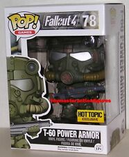 FUNKO POP 2016 GAMES FALLOUT 4 T-60 POWER ARMOR GREEN HOT TOPIC Figure IN STOCK