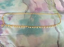 St. John's Women's Gold Metal Chain Belt