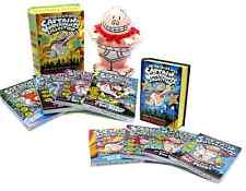 Captain Underpants Series Limited Edition Vol 1 & 2 Complete Book Box Set(s) NEW