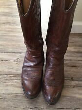 J CHISHOLM HANDCRAFTED Womens Cowboy Boots SZ 7