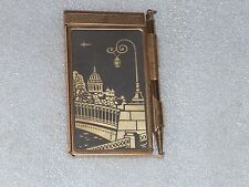 VINTAGE POCKET NOTE-BOOK WITH PENCIL, USSR/RUSSIA