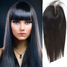 "Lace Top Closures Hair 100 % Brazilian Virgin Remy Human Hair Straight 8"" 4"" x4"""