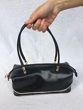 REDWALL originale borsa in vera pelle colore nero