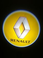 2Pcs Car door Led Welcome laser projector Logo Ghost Shadow Light For RENAULT