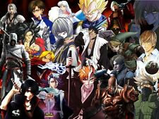 POSTER ANIME MANGA DRAGONBALL FINAL FANTASY BLEACH BIG