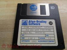 Allen Bradley 999550-02 Software Disk 1784-PCMK - Used