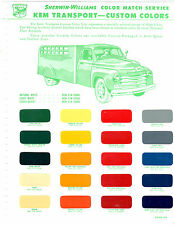COCA COLA PEPSI COLA ROYAL CROWN DR PEPPER DADS ROOT BEER FLEET PAINT CHIPS SW7