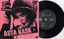 "Asta Kask - Till Sista Droppen 7"" PINK SLEEVE Strebers Cosa Nostra Wolfbrigade"