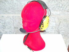 CUFFIE TRASFERIMENTO con elettronica SPARCO( rally peltor jet casco omp proj )
