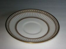WEDGWOOD Gold COLONNADE 1  SAUCER - made in ENGLAND