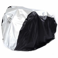 2 Bike Cycle Bicycle Rain Waterproof Cover Weather Dust Resistant UV Protection