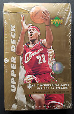 Upper Deck Basketball Hobby Box NBA 2004-05 2 Hits per Box!! Lebron james