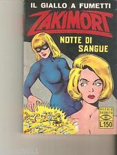 ZAKIMORT - NOTTE DI SANGUE - ANNO XIII  - N.2 - 1966