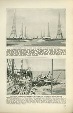 1920 Magazine Article Explosion of State of Washington Boat Columbi River