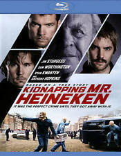 Kidnapping Mr. Heineken (Blu-ray, 2015) BRAND NEW w/slipcover