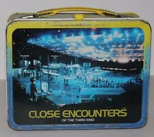 VINTAGE METAL LUNCHBOX 1981 CLOSE ENCOUNTERS OF THE THIRD KIND
