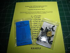 Realistic TRC-490 Electrolytic Capacitor Kit (PC-385)