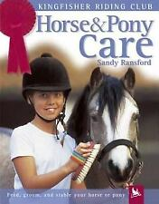 Kingfisher Riding Club: Horse and Pony Care by Sandy Ransford VGC Paperback