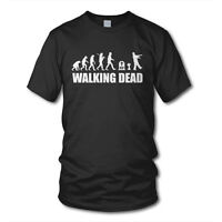 Evolution WALKING DEAD - KULT T-Shirt - Zombie Grimes Daryl The Dixon Serie