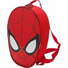 Marvel Spiderman Red Head Shaped Backpack