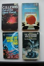 4 vintage science fiction novels (lot 2)