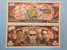 Party Memory of ADAM YAUCH of the BEASTIE BOYS    $1,000,000 One Million Dollars