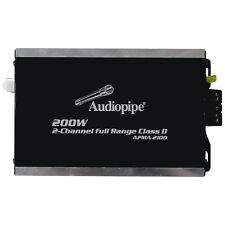 Audiopipe APMA2100 Mini Design 2 Channel Class D Amplifier 2X100 Watts RMS