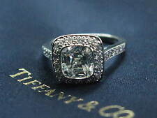 Tiffany & Co Platinum Legacy Diamond Engagement Ring 1.82CT+.42Ct  E-VVS1