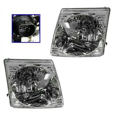 2001-05 FORD EXPLORER SPORT TRAC/EXPLORER SPORT HEADLIGHTS LEFT & RIGHT PAIR SET